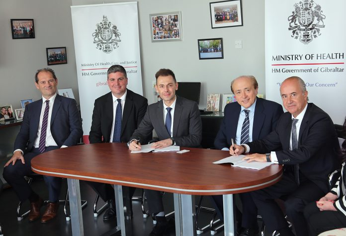 Gibraltar: GHA signs agreement with Hospiten