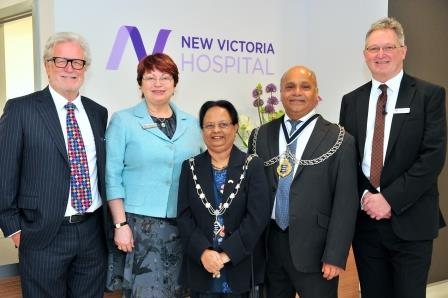New Victoria Hospital completes redevelopment